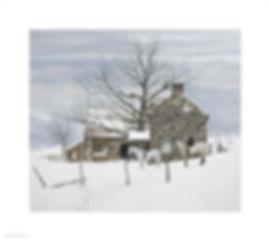 Peter_Sculthorpe _Winter_Huntsmen_horse_