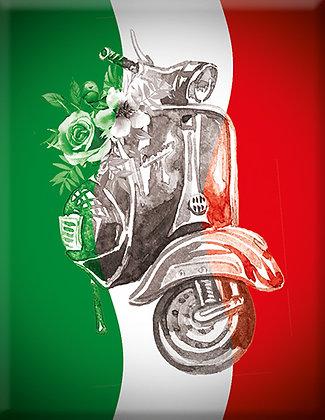 Italia-Чертеж-емблема Vespa