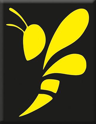 Emblem Wasp-Black-Yellow