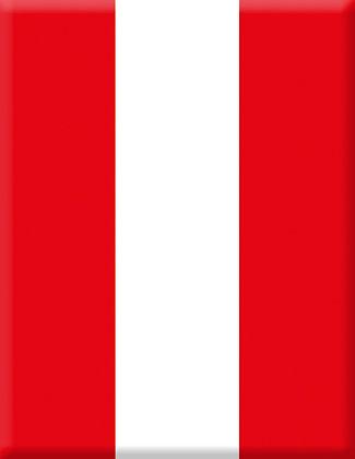 Емблема клуб гребен червено и бяло вертикално