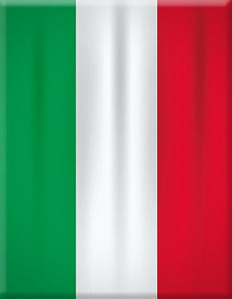 Flag Italia-Straight Emblem
