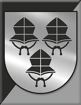 Landshut Stadtwappen S/W
