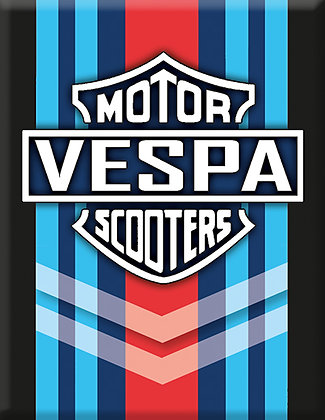 Скутери Vespa M-RACING-Черна емблема