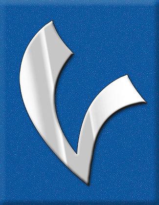 V-синя емблема Supersport