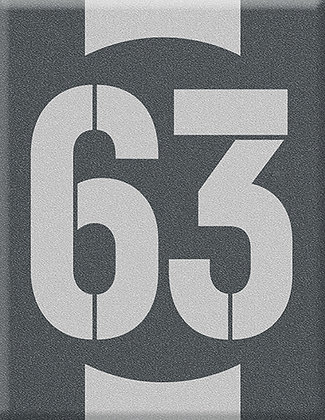 Startnumber-63-сива емблема