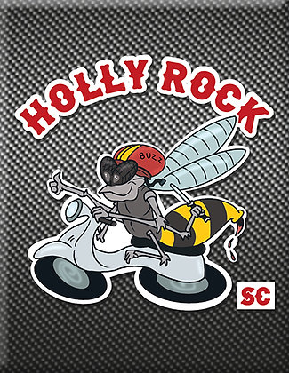 Holly Rock Vespa Club - Bert Black