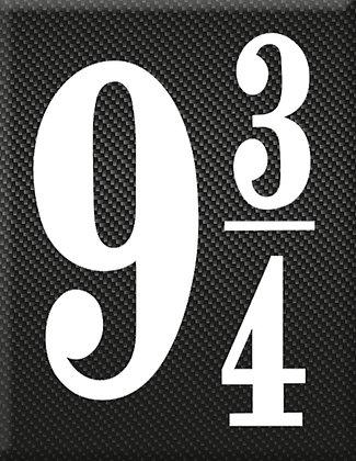 9 3/4 емблема