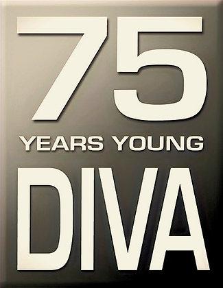 75 години Diva-Grey