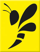 VP-074 Plakette Wespe-Yellow-Black.jpg