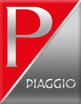 Емблема PIAGGIO Червено-сиво