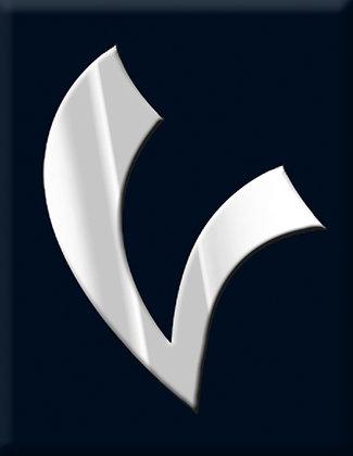 V-черна емблема