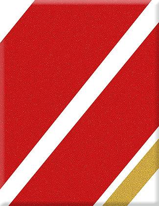 Racing Sixties Red-gold Emblem
