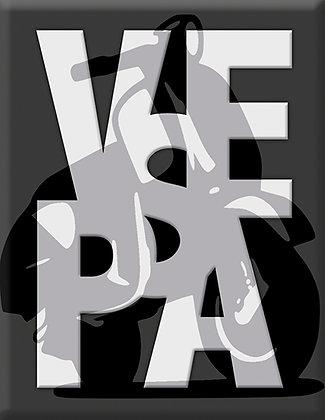 VESPA с емблема на скутер