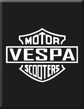 Vespa-Motor-Scooter-Black-Emblem
