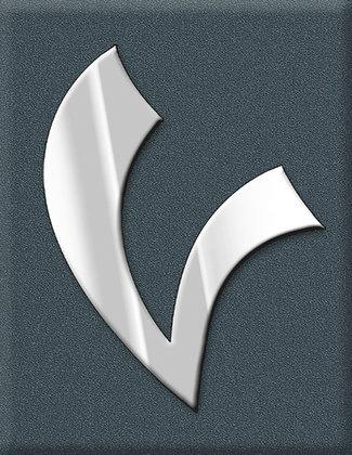 Vespa Emblem Piaggio Kaskade V-Sign-Supersport-grey
