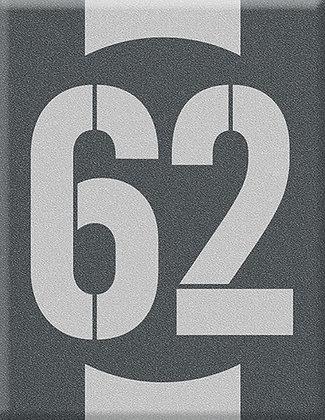 Startnumber-62-сива емблема