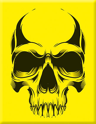 Skull-02-Yellow-Emblem