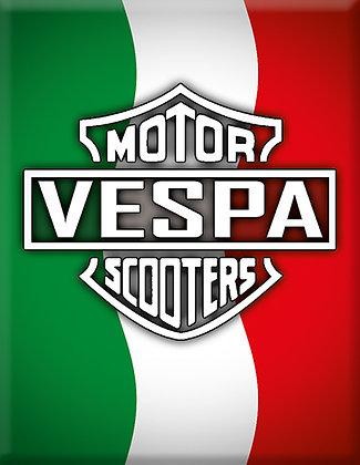 Емблема на Vespa Motor Scooters Italia