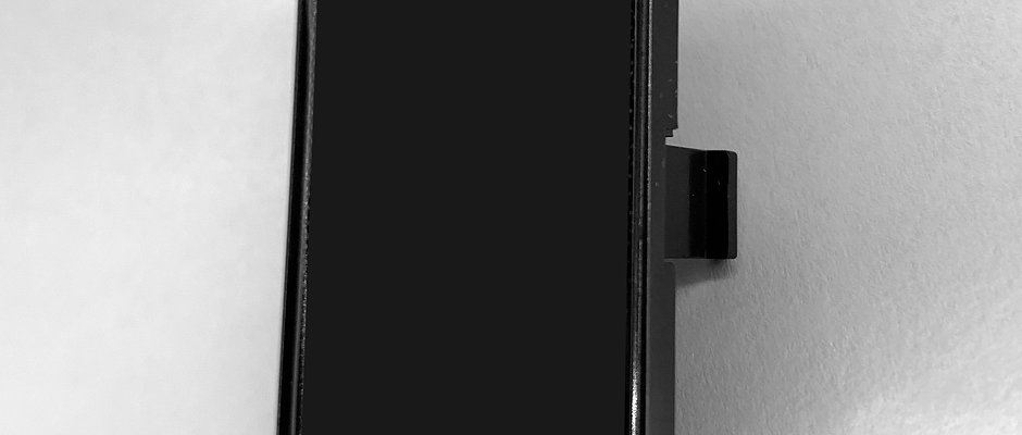 Halterung Kunststoff schwarz