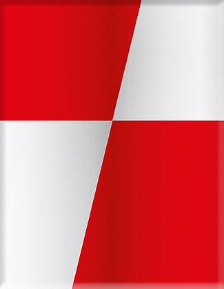 Vereinswappen-Red-White Emblem