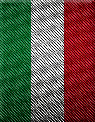 Emblem Italia-Carbon V1