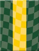 VP-082 Plakette Racing Sixties green-whi