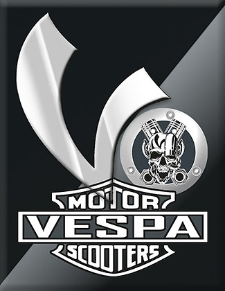 Vespa Kaskade Motor Scootesr V-Emblem