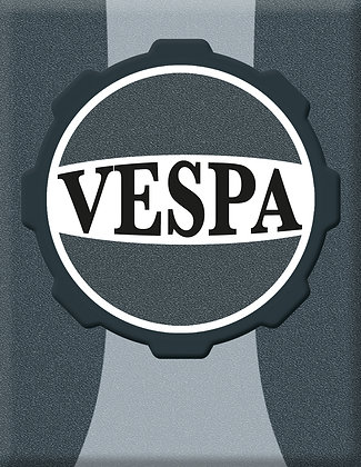 Vespa Emblem Piaggio Kaskade Sign