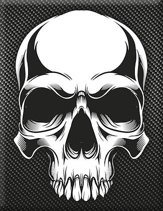 Vespa Kaskade Piaggio Emblem Totenkopf