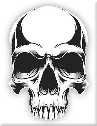 Skull-02-White-Emblem
