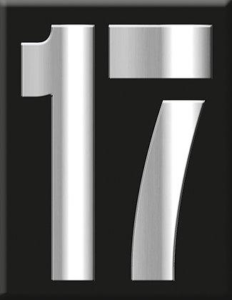 Емблема 17-хром-черен
