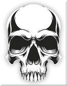 VP-072 Plakette Skull02-weiss.jpg