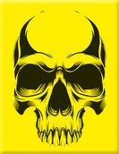 VP-073 Plakette Skull02-yellow.jpg