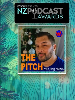 The Pitch NZ Podcast Nomination