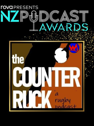 Counter Ruck NZ Podcast nomination