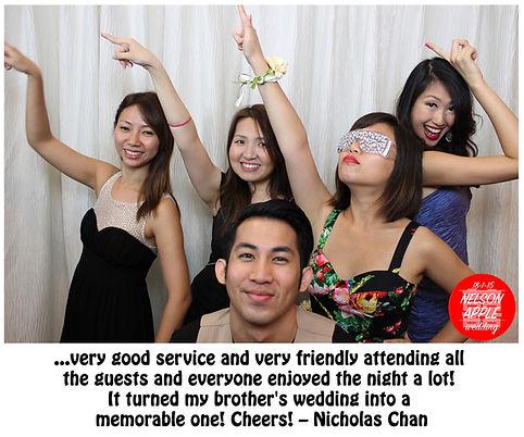 Penang Photo Booth Testimonial 2