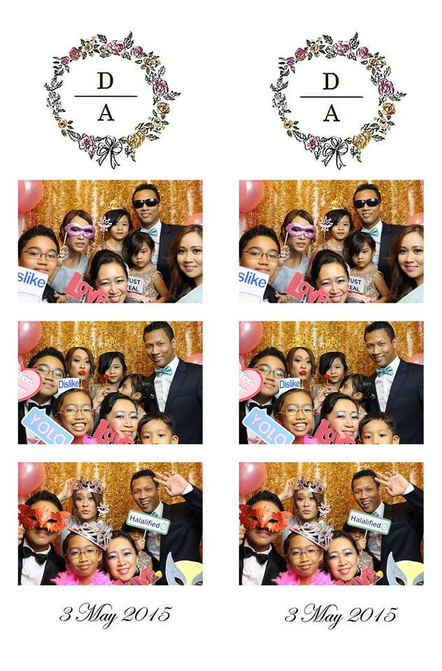 Dalila & Adli's Wedding Photo Booth