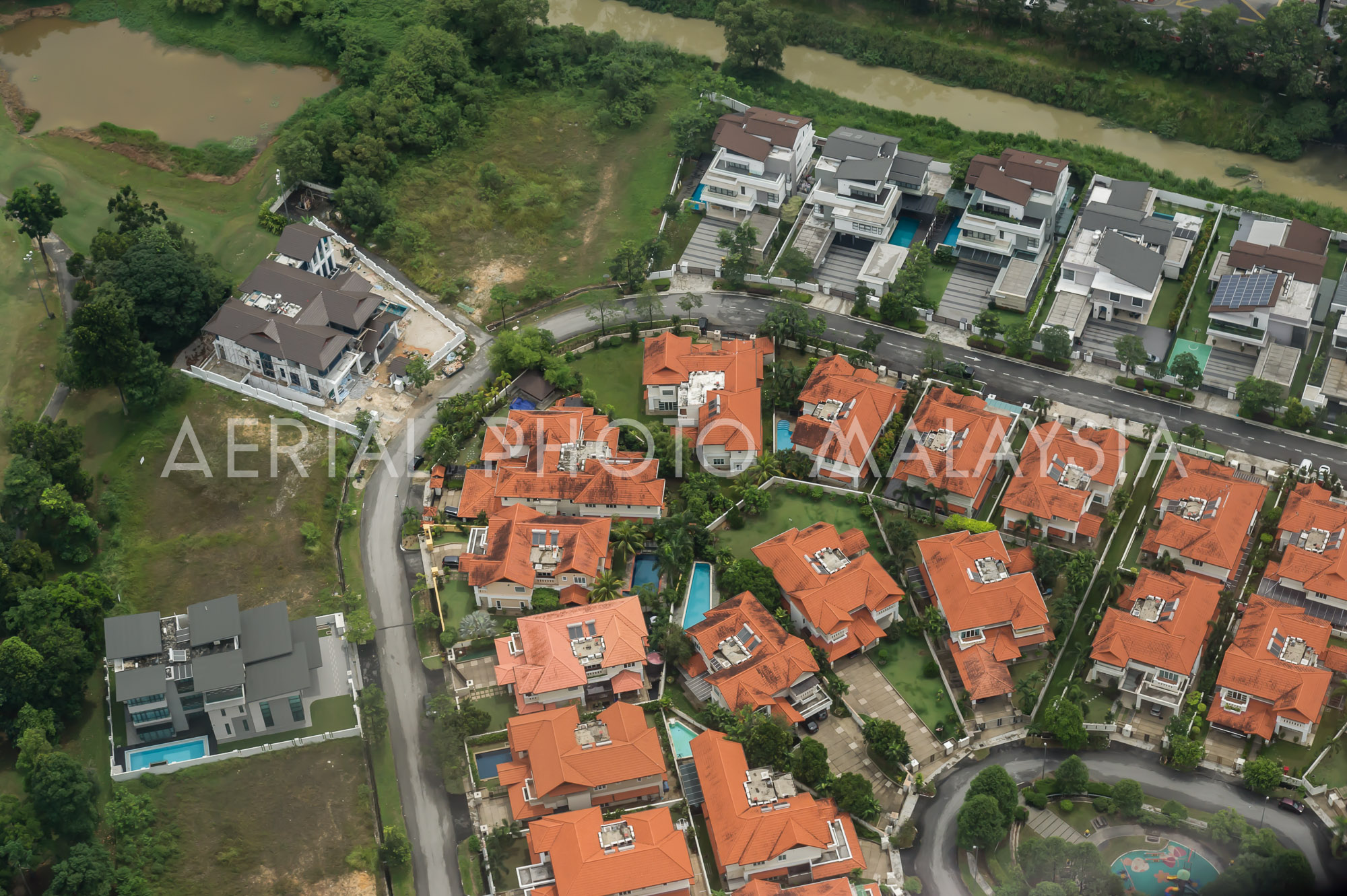 Aerial Photo Malaysia - Residential