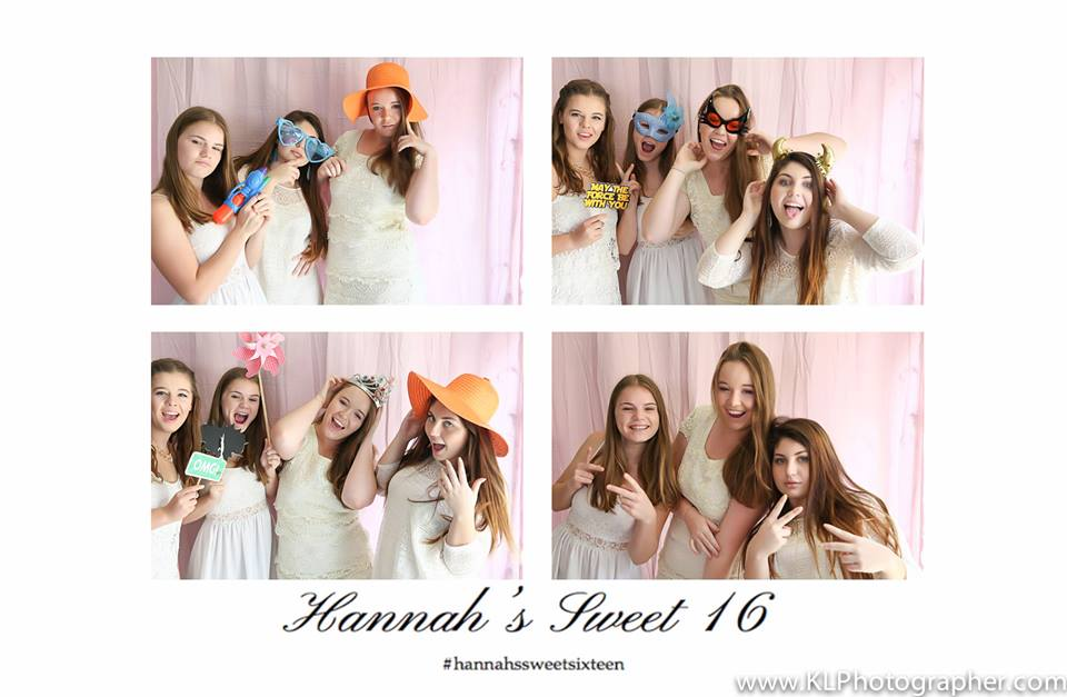 Hannah's Sweet 16 Photobooth