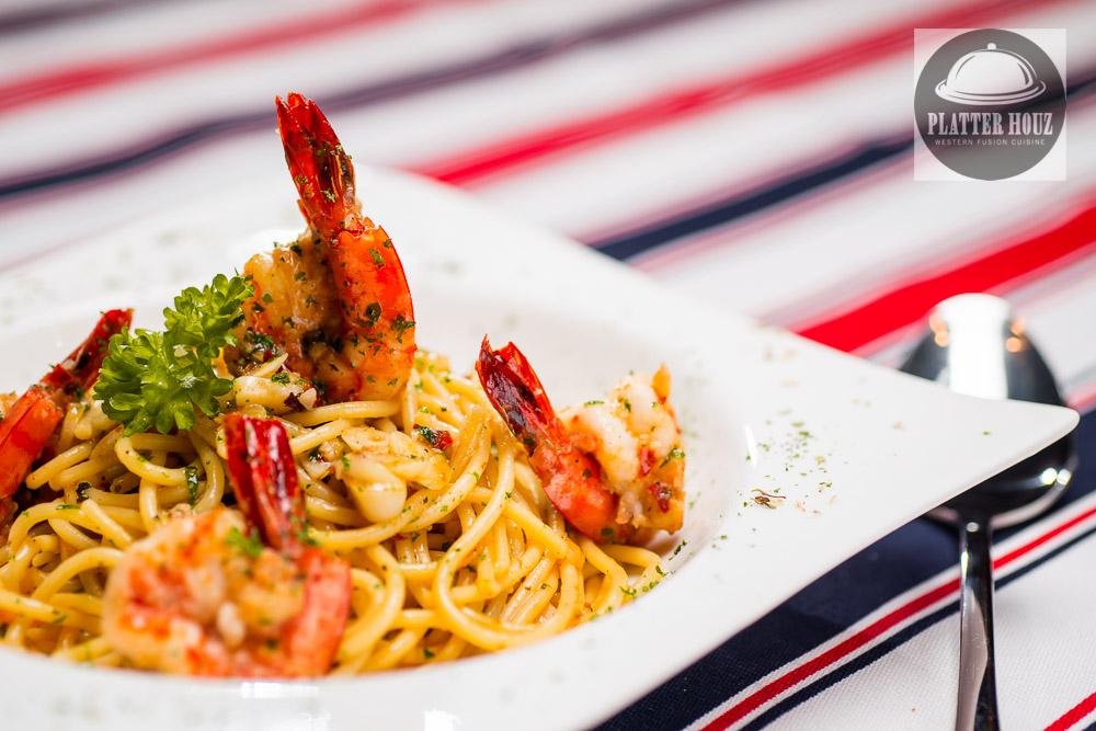 KL Food Photographer - Shrimp Pasta