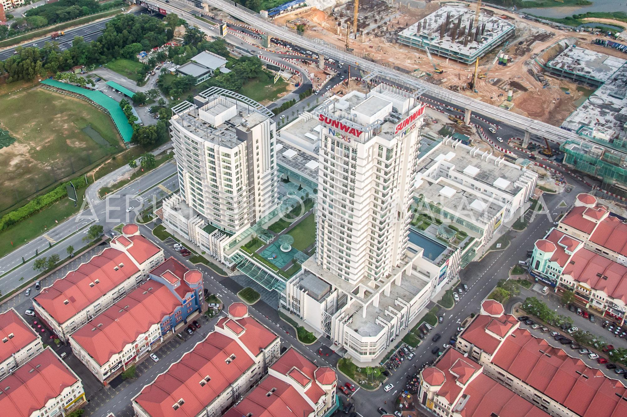 Aerial Photo Malaysia - Sunway