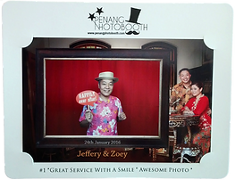 Penang Photo Booth Photo Stand