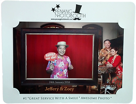 Penang Photo Booth Photo Standd