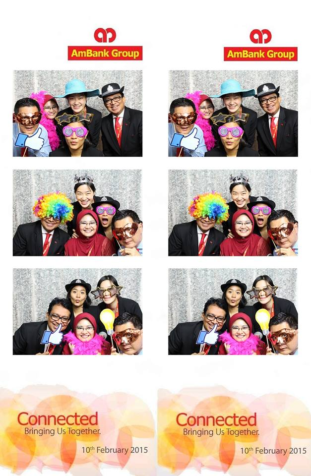 AMBank Connected Photo Booth