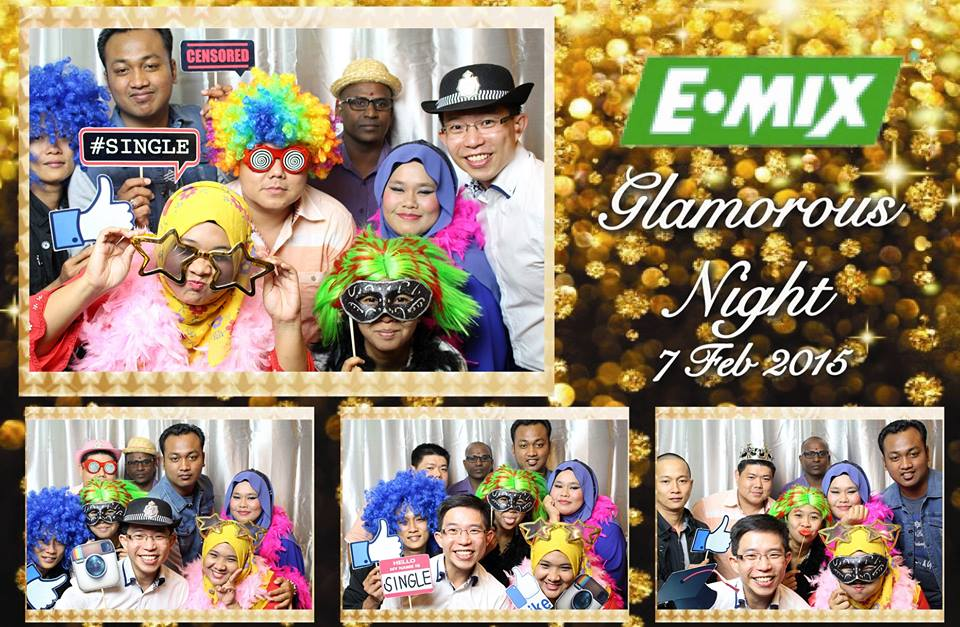 EMIX Annual Dinner Photobooth
