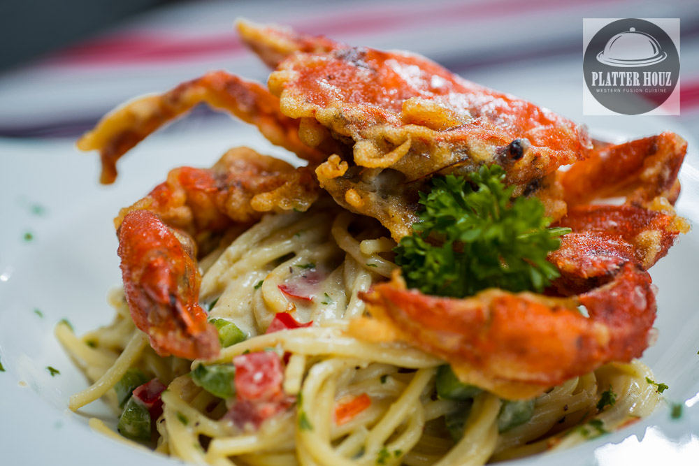 KL Food Photographer - Crab Pasta