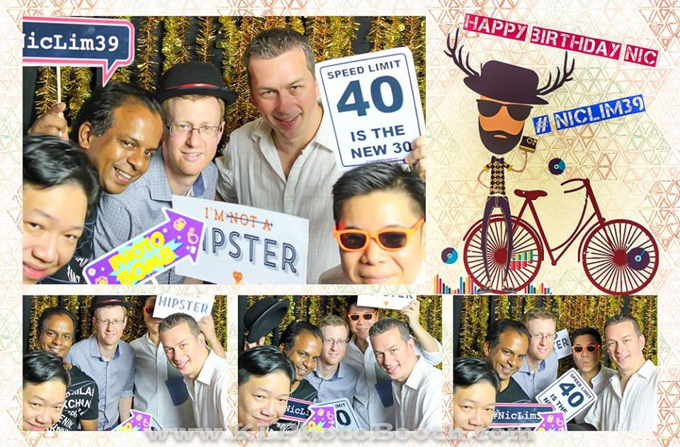 #NicLim39 - Photo Booth