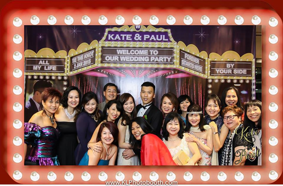 Kate & Paul Wedding Photo Booth