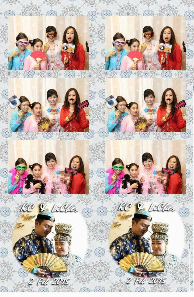 KC & LiCher's Baba & Nyonya Themed