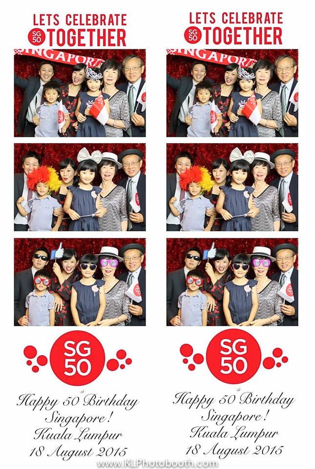 KL Photo Booth SG50 Celebrations